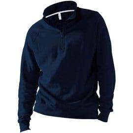 Sweat-Shirt Col Zippe Kariban