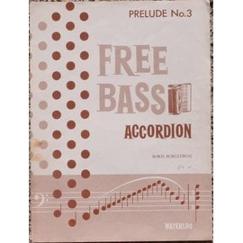 Free Bass Accordion Prelude n°3