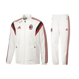 Surv�tement Pr�sentation Adidas Milan Ac 2014/15 Noir Ou Blanc