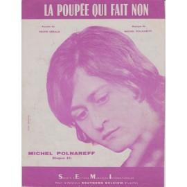 MICHEL POLNAREFF PARTITION LA POUPEE QUI FAIT NON