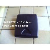 valisette range CD - 12 emplacements (6 recto verso) clips plastique de fermeture