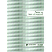 Manifold Exacompta 50 Feuillets Facture Auto-Entrepreneur 29,7x21cm Dupli