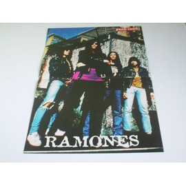 POSTER THE RAMONES 29 X 42 PUNK RAWK RARE