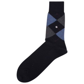 Navy/Grey/Blue Manchester Chaussettes De Burlington