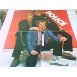 POSTER THE POLICE 42 X 54