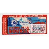 Billet De Loterie 1977 Tranche De La Chandeleur 1/10 �me Dixieme De La Bourse Marseille Notre Dame De La Garde Eurosud