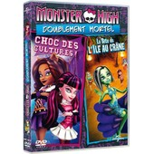 Monster High - Doublement Mortel : Choc Des Cultures ! + La B�te De L'�le Au Cr�ne - Dvd + Copie Digitale de Victor Dal Chele