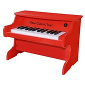 Piano-Jouet �lectrique Rouge - 25 Notes