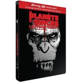 La Plan�te Des Singes : L'affrontement - Combo Blu-Ray3d + Blu-Ray+ Dvd - �dition Limit�e Bo�tier Steelbook de Matt Reeves
