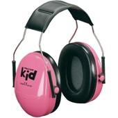 Casque Anti-Bruit Pour Enfants Rose Fluo Att�nuation Peltor Kid H510ak-442-Rd