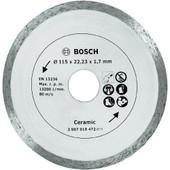 Disque Diamant Carrelage �115 Mm Bosch Ts 2607019472