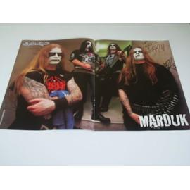 POSTER MARDUK HARD ROCK 40 X 29