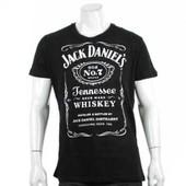 T-Shirt Blance Jack Daniel's N 7 Toute Taille