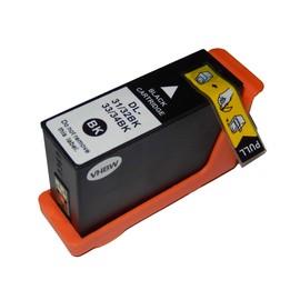 Vhbw Cartouche D'Encre Noire � Puce Int�gr�e Pour Dell Pro V525, V525w, V725, V725w Comme 31, 32, 33, 34.