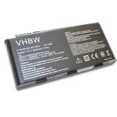 Batterie Li-Ion 6600mah 11.1v Noire Pour Medion Erazer X6811, X6813, X6817, X6819, X6821, X7813, X7815, X7817 Etc, Remplace Le Mod�le Bty-M6d