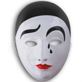 Masque Pierrot Adulte,