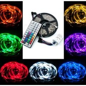 10m Bande Ruban Flexible Lumineux 5050 Smd 300 Leds Rgb + T�l�commande � Infrarouge 44 Touches