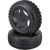 Roues Compl�tes Buggy 1:5 Avec Jantes Reely � 5 Rayons 013001