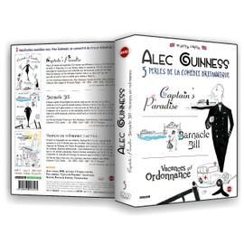 Alec Guinness 3 Perles De La Comédies Captains Paradise + Barnacle Bill + Vacances Sur Ordonnance Pack
