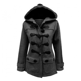 Balingi Duffle Coat Avec Capuche Pour Femme Ba10385