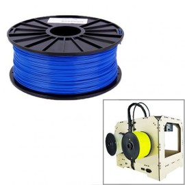 Bobine De Fil Pla 1.75 Mm Biod�gradable Imprimante 3d Filament Bleu