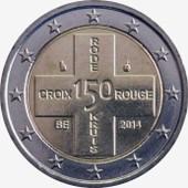 Euro - Pi�ce 2 Euros Comm�morative - 2014 - Belgique -150 �me Anniversaire De La Croix-Rouge Belge