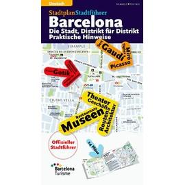 Barcelona, La Ville Plan Par Plan - Edition En Allemand - Collectif