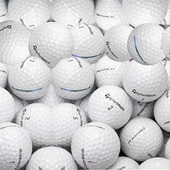 Longridge Taylormade Penta 2nd Choix Lot De 100 Balles Blanc