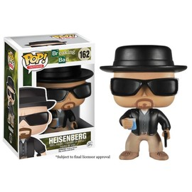 Breaking Bad - Figurine Pop Heisenberg 10cm