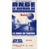 Ticket-Billet Du Concert De Ange Au Palais Des Sports De Paris - Vendredi 17 Juin 1983