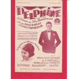 DELPHINE (FoxTrot - Chanson de film - Henri Garat, Clara Tambour)