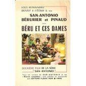 Fyer Publicitaire Couleur Pour Le Film B�ru Et Ces Dames 1968