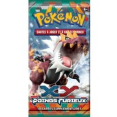 Paquet De 10 Cartes Pokemon Xy Poings Furieux