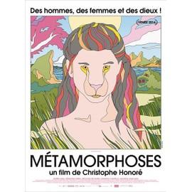 M�tamorphoses (2014) - Affiche Originale De Cin�ma 40x60 Cm - Pli�e - Christophe Honor�, Amira Akili, S�bastien Hirel, M�lodie Richard