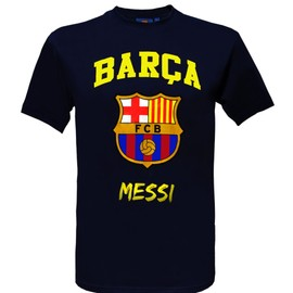 T-Shirt Lionel Messi - N�10 - Bar�a - Collection Officielle Fc Barcelone - Taille Enfant Gar�on