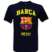 T-Shirt Lionel Messi - N�10 - Bar�a - Collection Officielle Fc Barcelone - Taille Adulte Homme