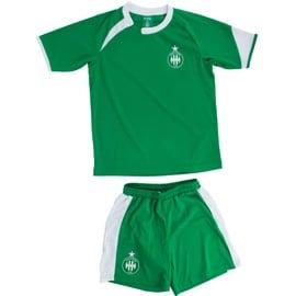 Maillot + Short Asse - Collection Officielle As Saint Etienne - Football - Taille Enfant Gar�on