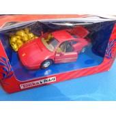 Tonka & Polistil X - Ferrari 348 Gt Rouge 1:25 Nb