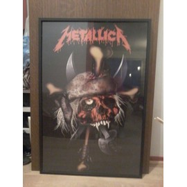 Poster Metallica Skull Pirate neuf
