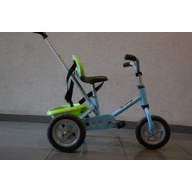 Tricycle Judez vert et bleu