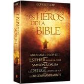 Les H�ros De La Bible : Abraham Le Proph�te + Esther, Reine De Perse + Samson & Dalila + Le D�luge + Les 10 Commandements - Pack