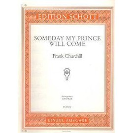 SOMEDAY MY PRINCE WILL COME Piano et Accords Arrangement G Bock [Partition]