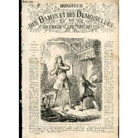 Moniteur Des Dames Et Des Demoiselles Et Brodeuse Illustree Reunis /Janv 1867 / Les Cuisiniers De L'or / Toilette Du Matin, De Ville / Garniture Du Voile Au Crochet / Crochet Tunisien Etc...