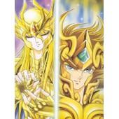 Poster A3 Saint Seiya - Duo Aiolia Shaka