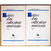 Lettres D'un Cultivateur Americain - Presentation De G - Bertier De Sauvigny - 1784 - de Crevecoeur M.G.J. De