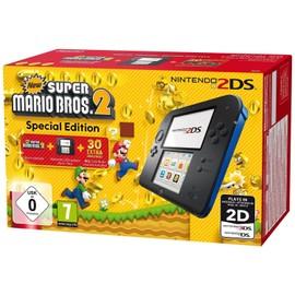 Image Console Nintendo 2ds Noire Bleue + New Super Mario Bros. 2