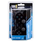 Manette Shock Controller Noir Pour Playstation 2 (Ps2)