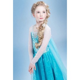 Robe Tenue Princesse D�guisement Elsa, La Reine Des Neiges