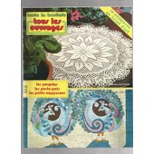 Les Poup�es - Les Porte Pots - Petits Napperons - Napperon En Tricot D'art de toute la broderie tous les ouvrages N� 272