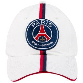 Casquette Psg - Collection Officielle Paris Saint Germain - Football - Taille R�glable - Blason Maillot